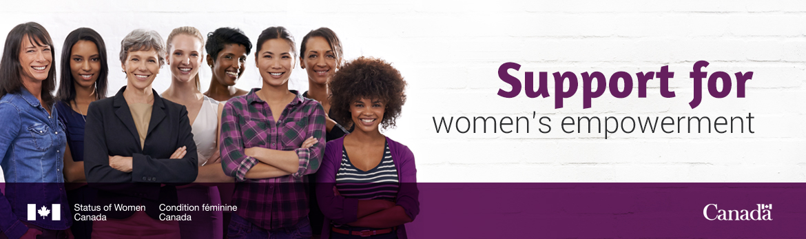 Support for Women's Empowerment banner