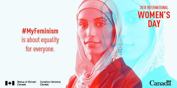 #MyFeminism is about equality for everyone.