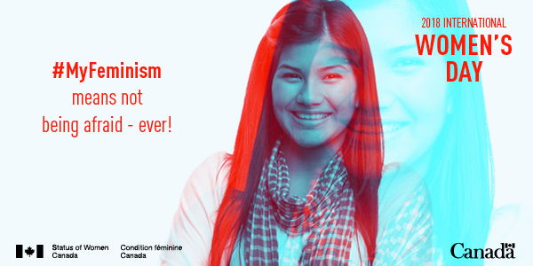 #MyFeminism means not being afraid - ever!