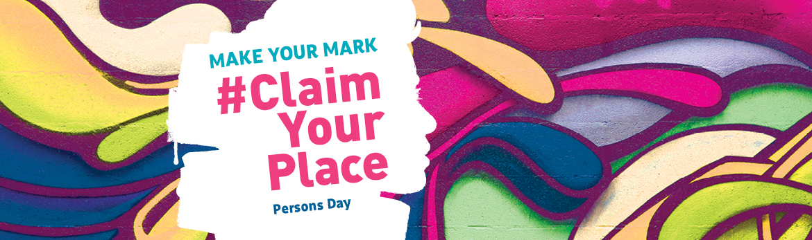 Banner for Persons Day