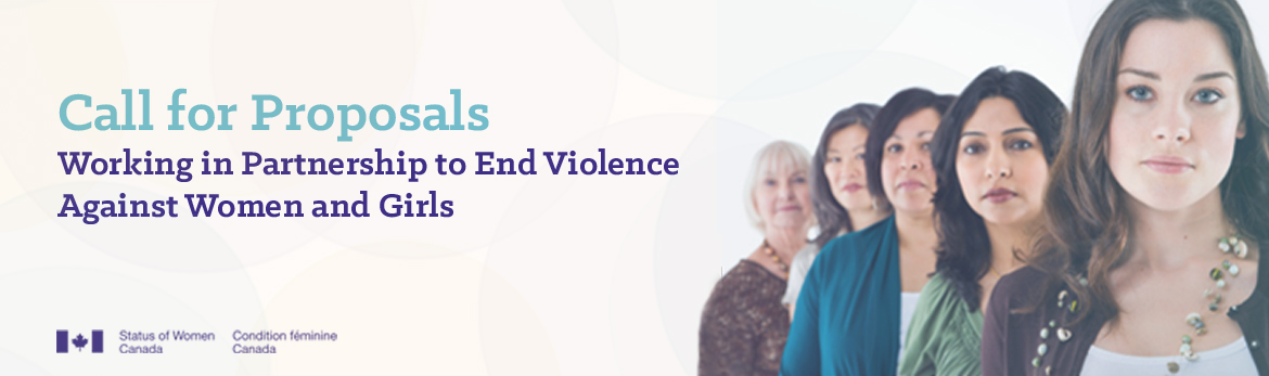 Working in Partnership to End Violence Against Women and Girls banner