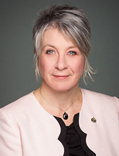 Honourable Patricia A. Hajdu,Minister of Status of Women