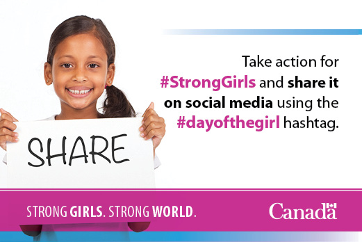 Join the conversation using hashtag #StrongGirls2014