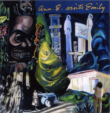 image of Ann E. Visits Emily by Métis artist Rosalie Favell, from the Collection of Aboriginal Affairs and Northern Development Canada. Reproduced with the permission of Rosalie Favell.