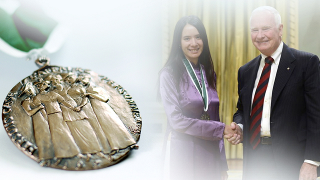 Chantal Thanh Laplante, Recipient, 2014, Governor General Awards in Commemoration of the Persons Case