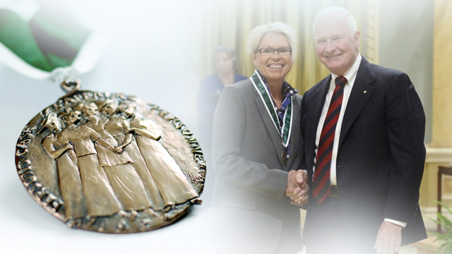 Tracy Porteous, Recipient, 2014, Governor General Awards in Commemoration of the Persons Case
