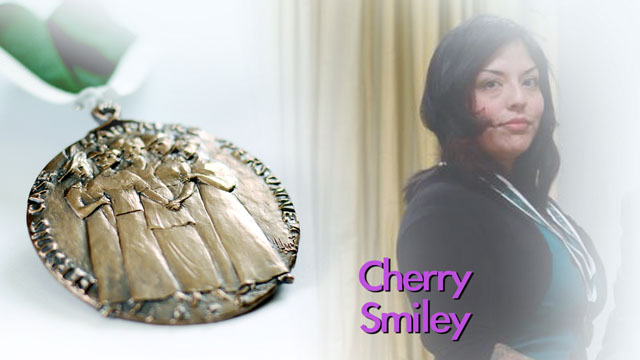 Cherry Smiley, (Youth Recipient), Vancouver, British Columbia, Recipient, 2013, Governor General Awards in Commemoration of the Persons Case
